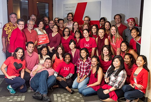 Wear Red Day 2016 - preventing heart disease and stroke