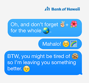 Bank of Hawaii eCard