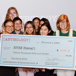 Anthology Yule Store Fundraiser Raises $12,050 for RYSE Hawaii